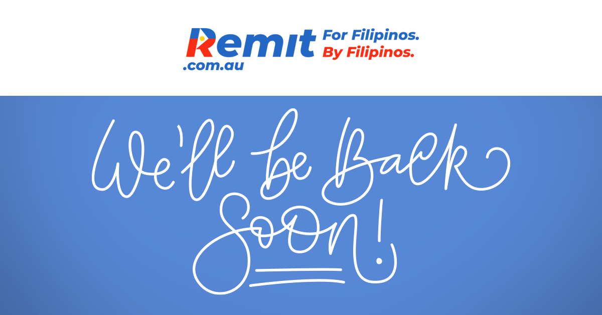 remit back soon
