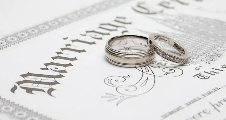Marriage Contract/Report of Marriage