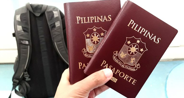 Original and Photocopy of Philippine passport