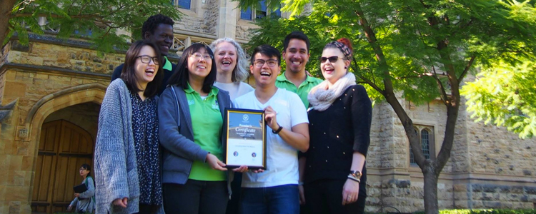 International students who choose to study here are given full support