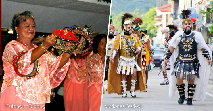 Putong or Tubong and Moriones Festival