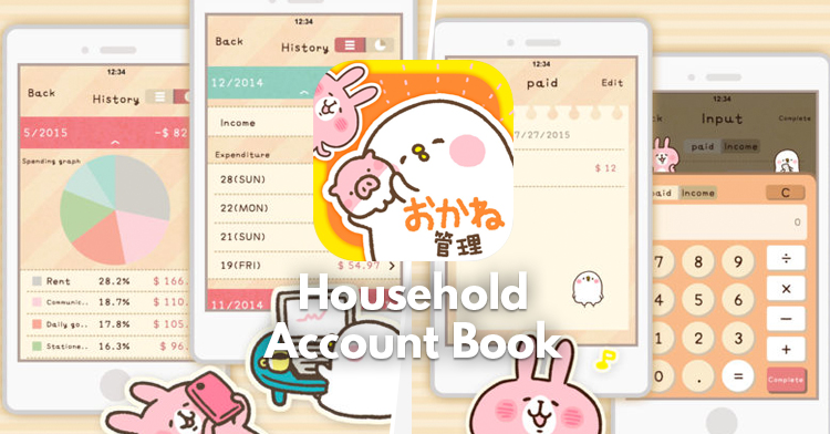 HOUSEHOLD ACCOUNT BOOK APP