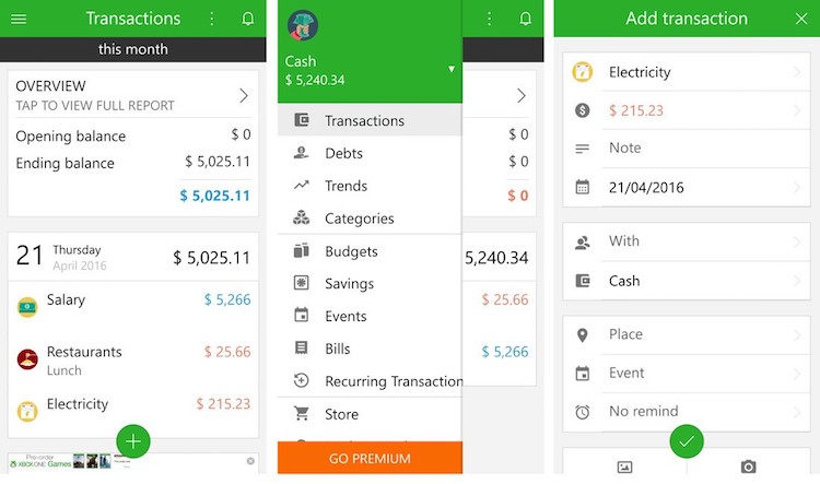 Money Manager And Expense Tracker Apps That Will Keep You Stick To