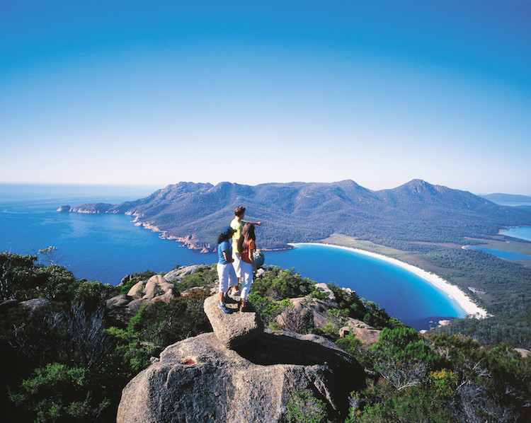 Wineglass Bay And Hazards Beach Circuit, Tasmania