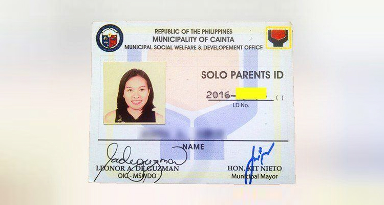 ph solo parent ID