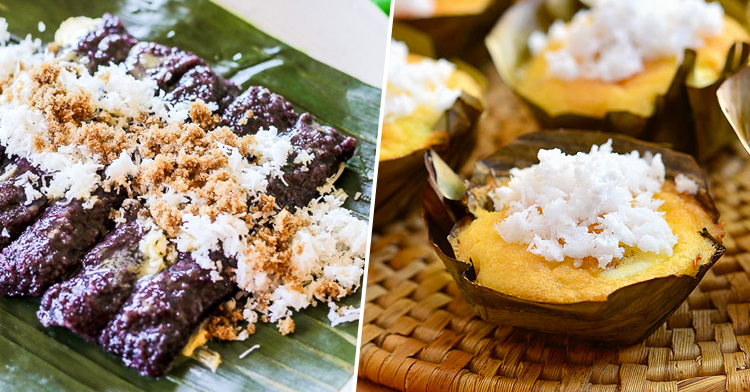 Puto bumbong and Bibingka (Christmas Special Menu)
