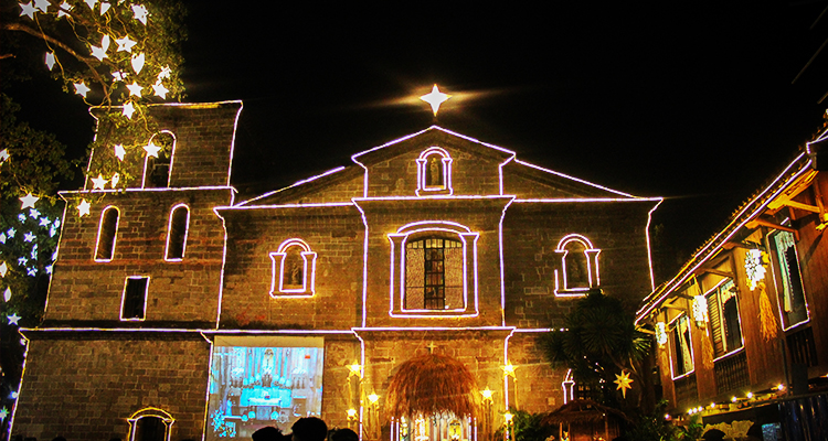 St. Joseph Parish Church during Christmas