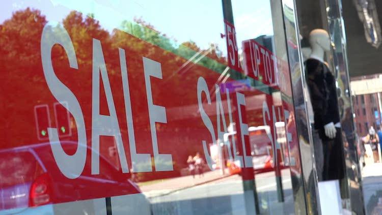 Buying Stuff on sale