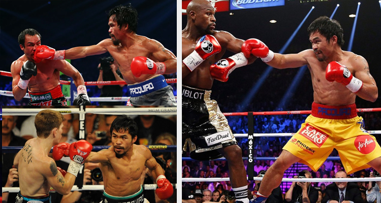Pacquiao_s previous fights