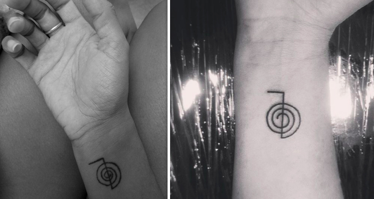 Power of Reiki tattoo symbol