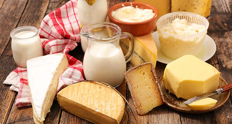 Save dairy products for your cheat days