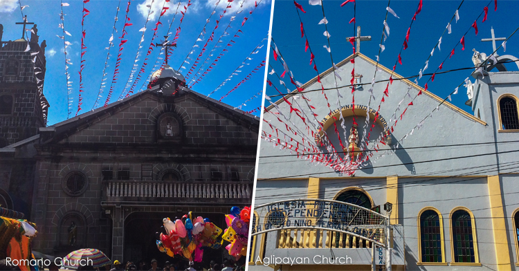 The Aglipayan and Romano Churches in Ternate Cavite