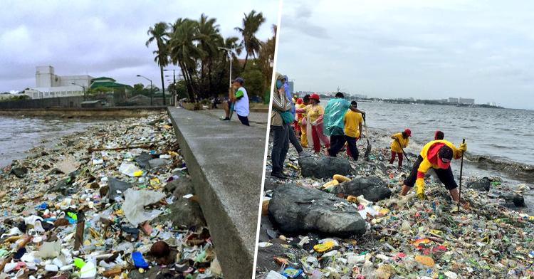 Manila Bay BEFORE the Rehabilitation
