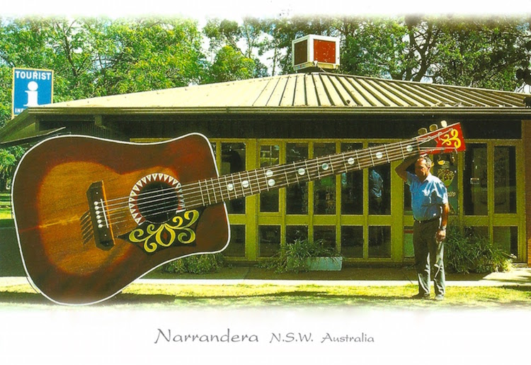 The Largest Playable Acoustic Guitar