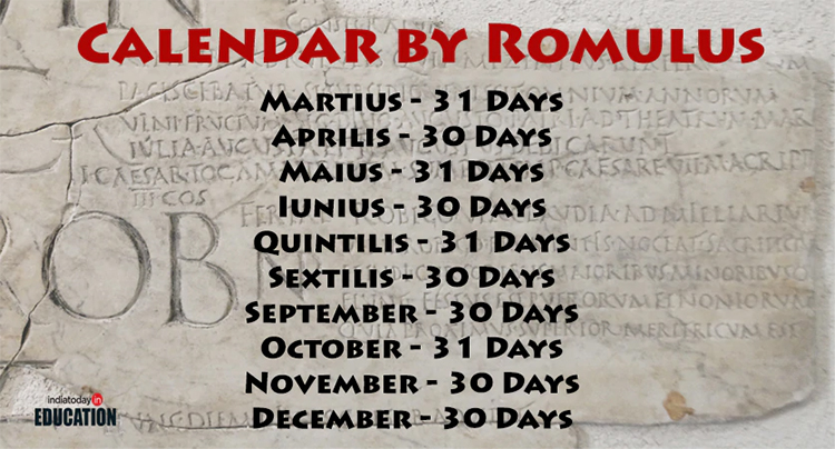 Two Roman Emperors and a Calendar