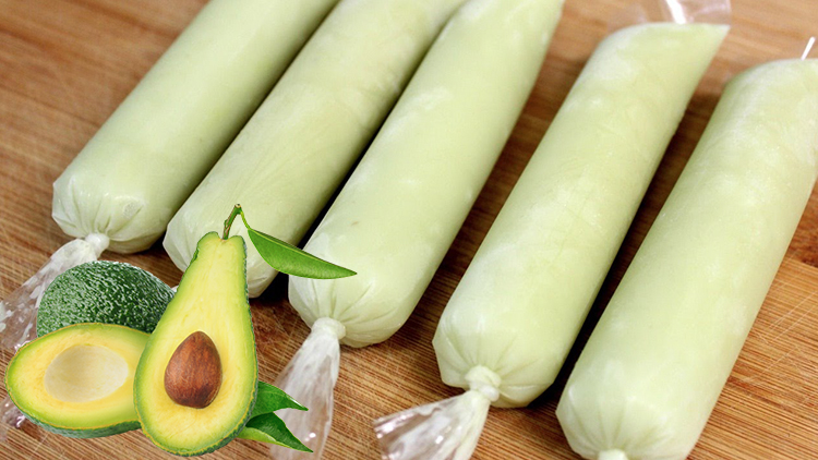 Avocado Ice Candy