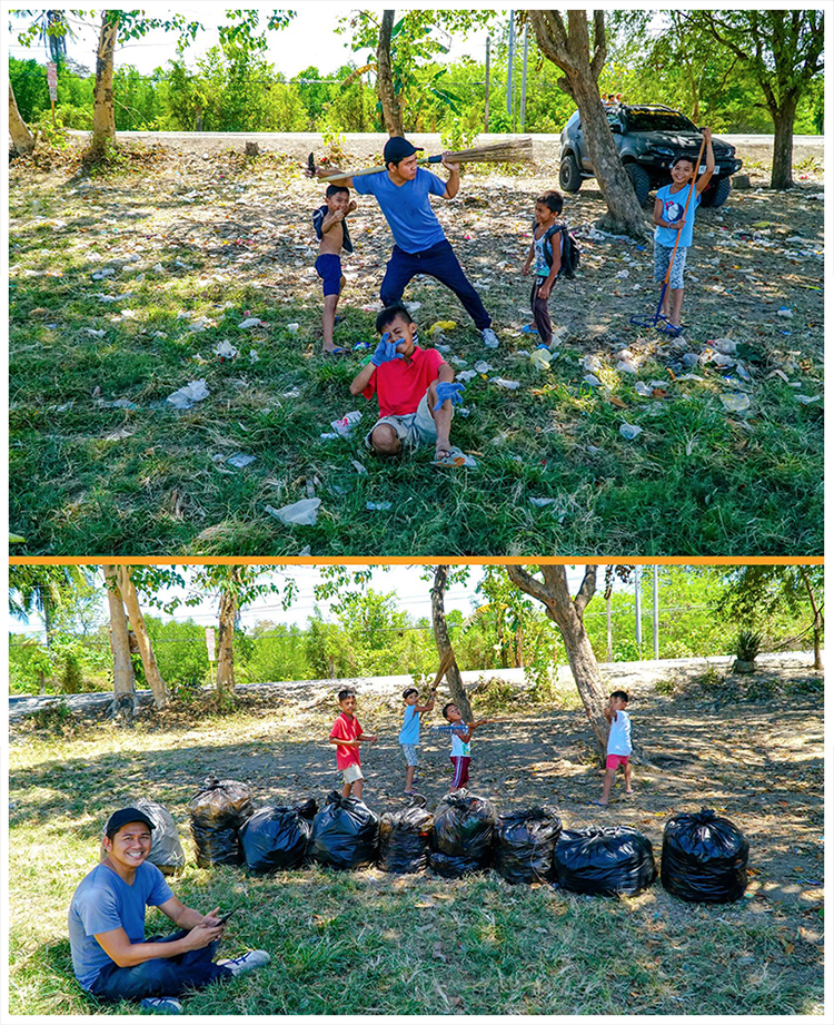 #trashtag challenge in Cebu, Philippines