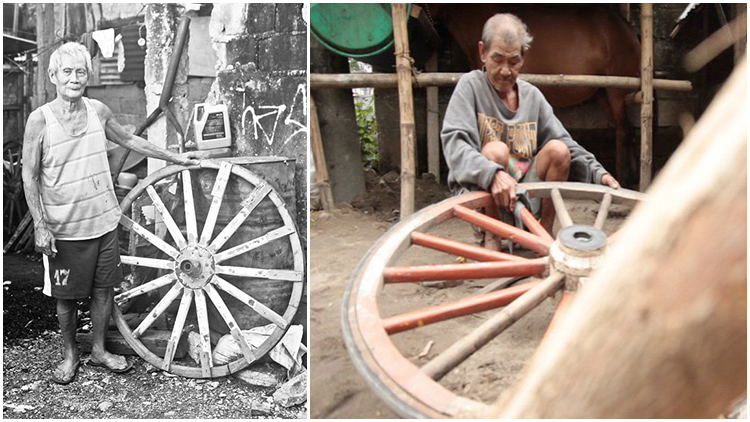 Gareta Kalesa Wheelwrights (Wooden Wheel Maker)