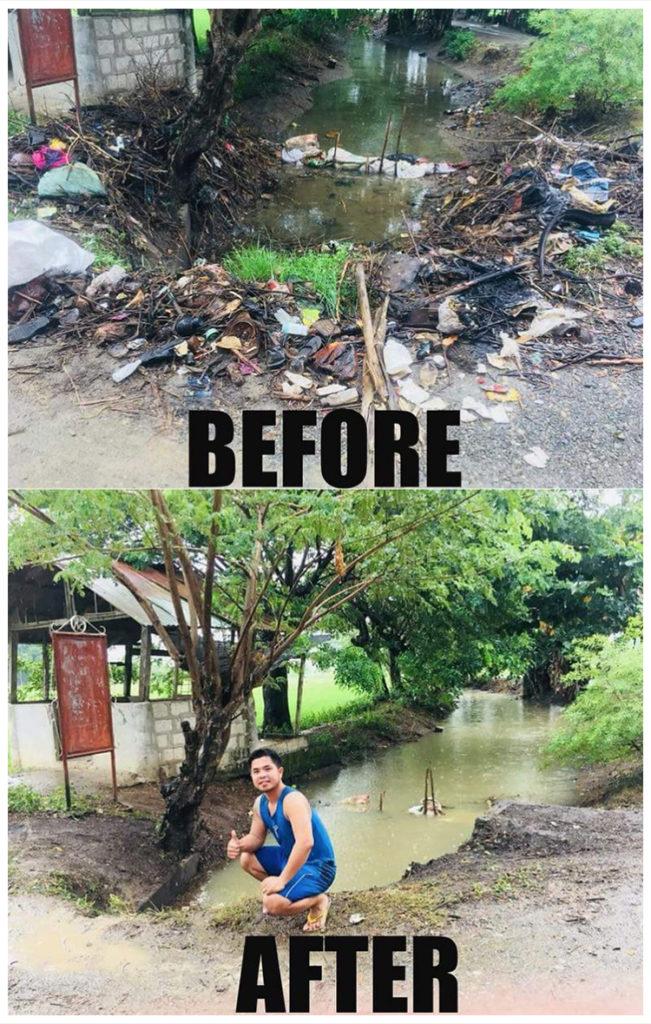 #trashtag Challenge in Nueva Ecija, Philippines