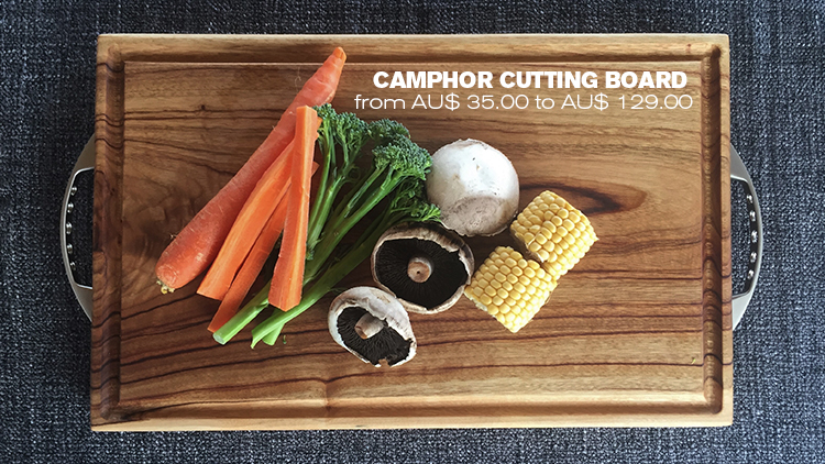 Camphor Cutting Board