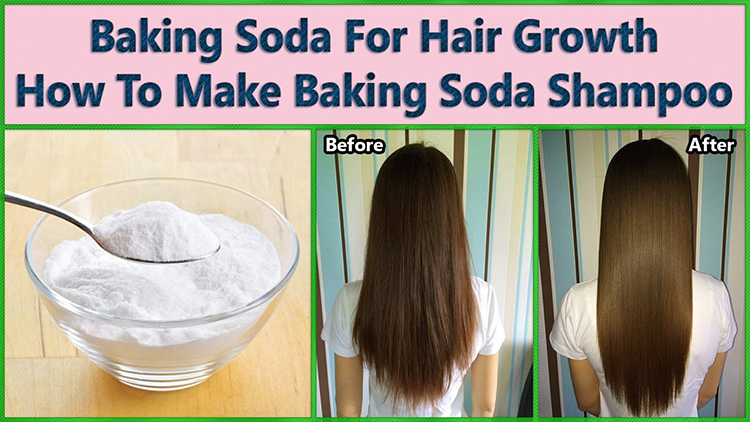 DIY BAKING SODA SHAMPOO