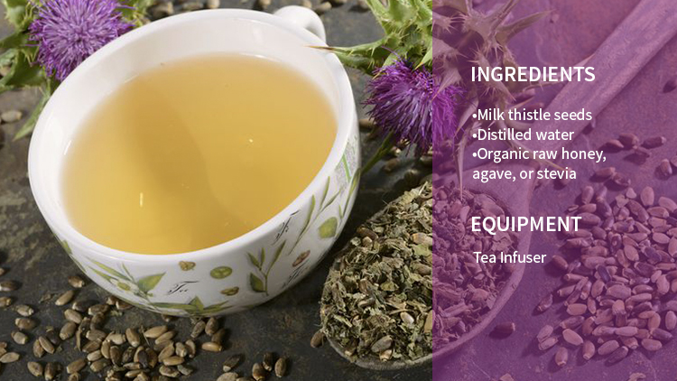 Milk Thistle Tea Recipe