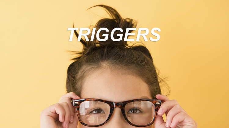 Triggers of eye floaters