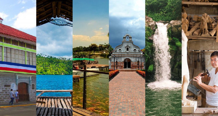 Travel destinations in Laguna