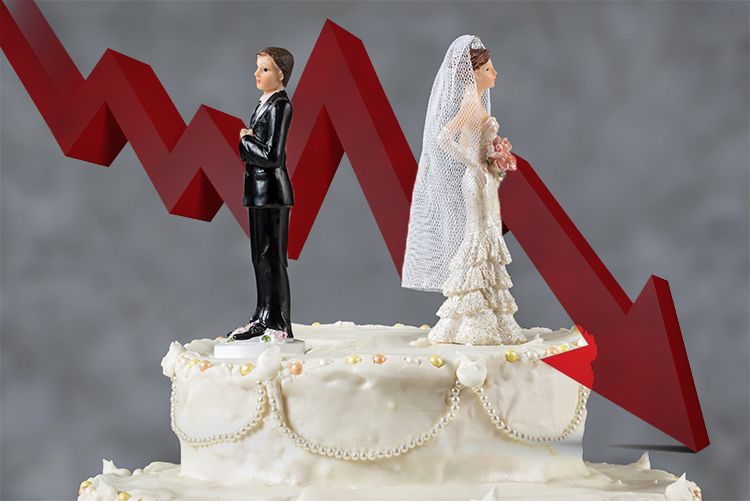 Lower Divorce Rates Across The Board