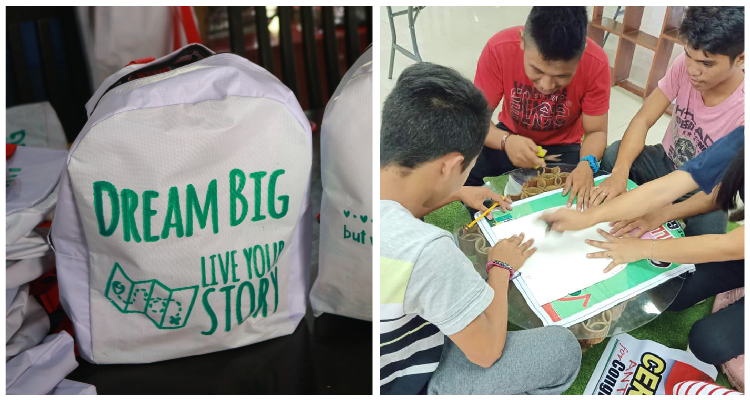 Upcycling Tarps to School Bags