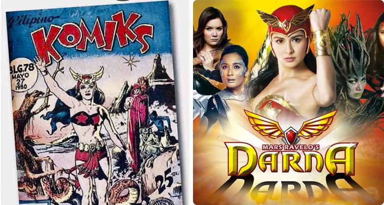 Comic book Darna _ TV Darna