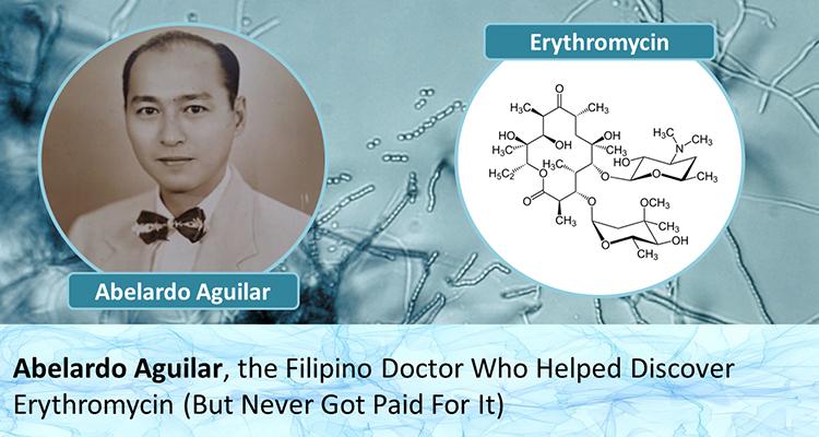 Erythromycin inventor