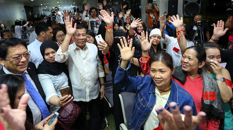 Establish a Department of Overseas Filipinos