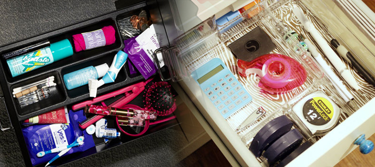 Leave some of your daily essentials in your office drawer