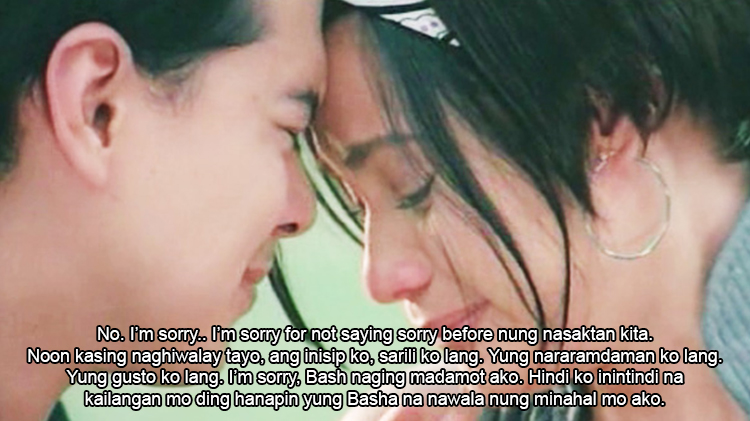 Never miss the chance to ask for forgiveness - Lesson from Basha and Popoy