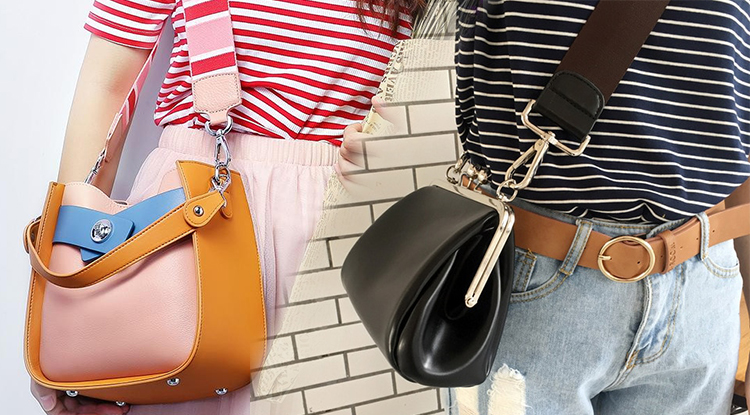 Opt for bags with wider straps