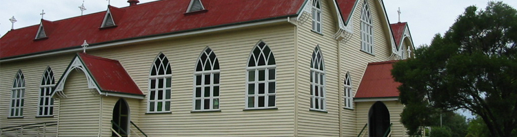 QLD - St. James_ Church, Malanda