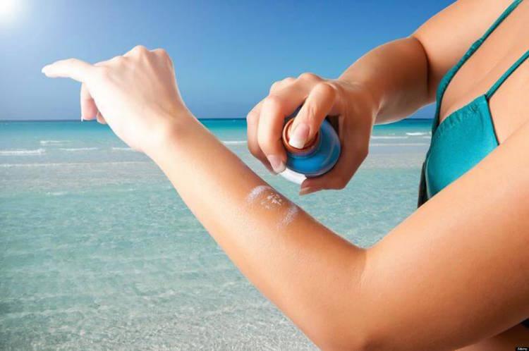 Spray-on Sunscreen