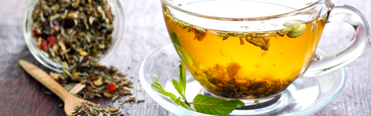 Tea and dried herbs