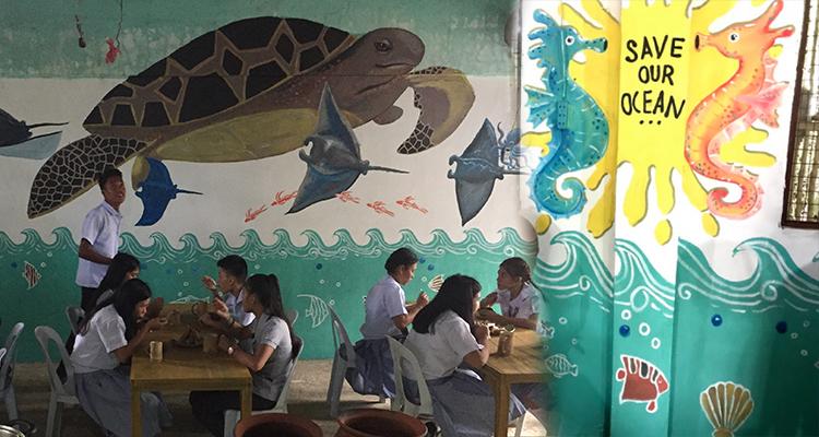 Wala Usik canteen in Bulata National High School