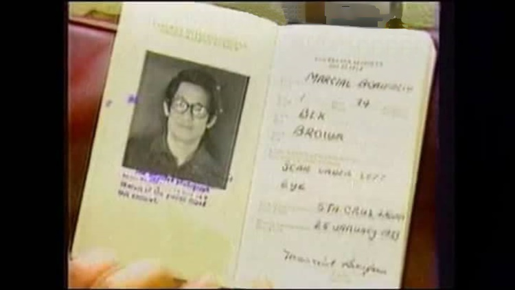 8-He obtained a passport with a meaningful alias