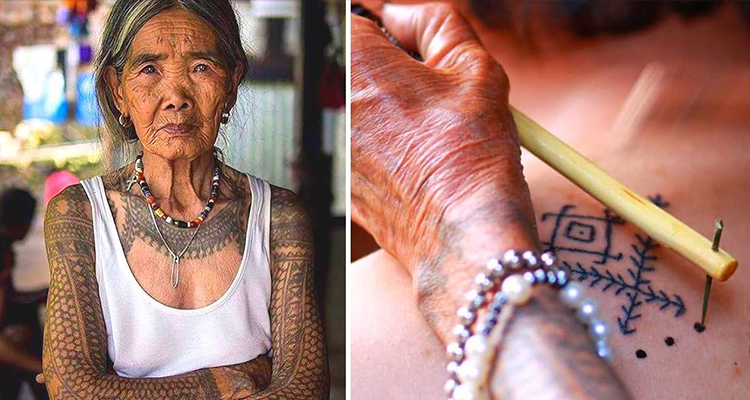 Get a traditional tattoo in Kalinga