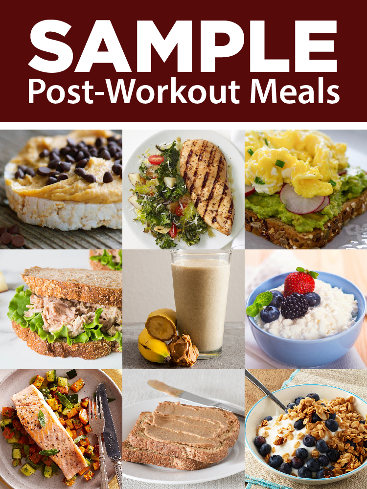 Sample Post-Workout Meals