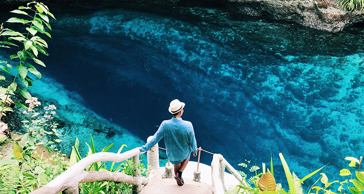 Take a plunge into the Hinatuan Enchanted River, Surigao del Sur