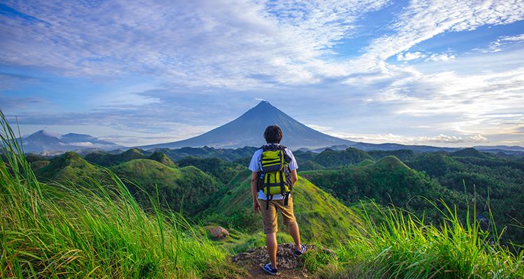 Visit the Beautifully symmetrical Mayon volcano