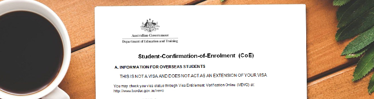 What is a Confirmation of Enrollment_