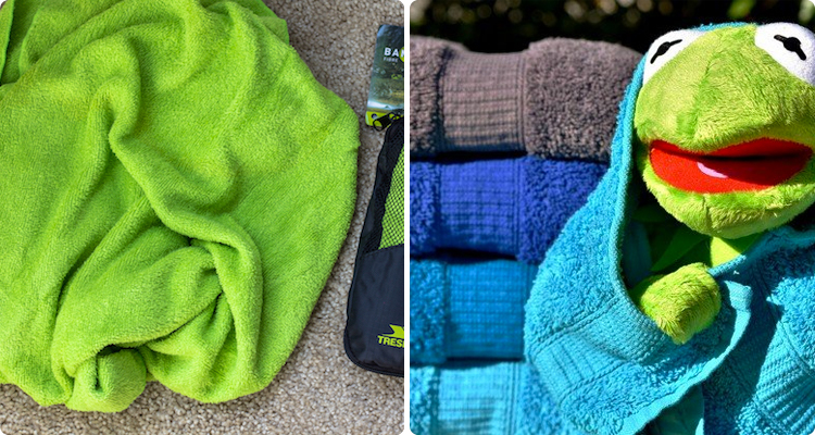 9-A travel towel