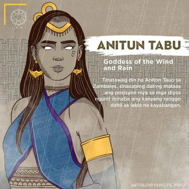 Anitun Tabu - Goddess of the Wind and Rain