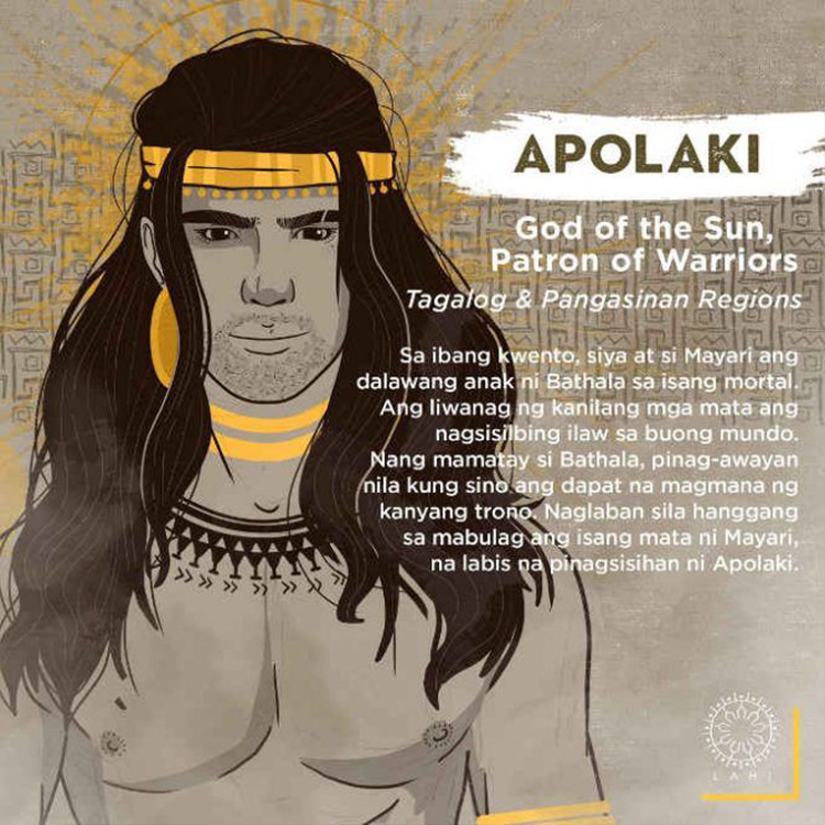 Apolaki - God of the Sun, Patron of Warriors