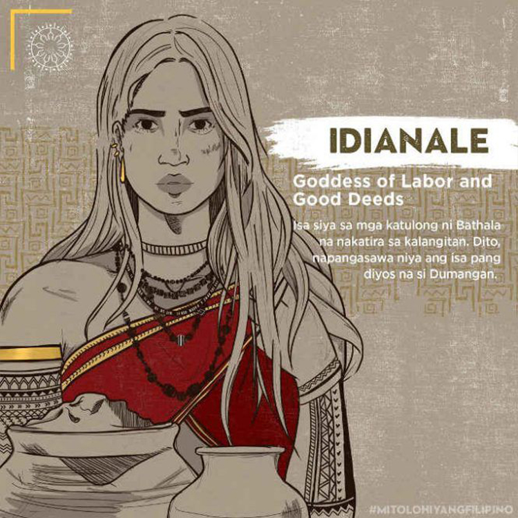 Idianale - Goddess of Labor and Good Deeds